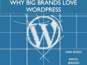 Why Big Brands Love WordPress by Sara Rosso